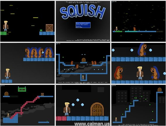 caiman free games  squish by terry cavanagh and josiah tobin