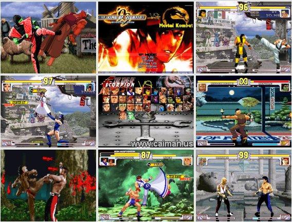The king Of Fighter vs Mortal Kombat (PORTABLE) 3723-3