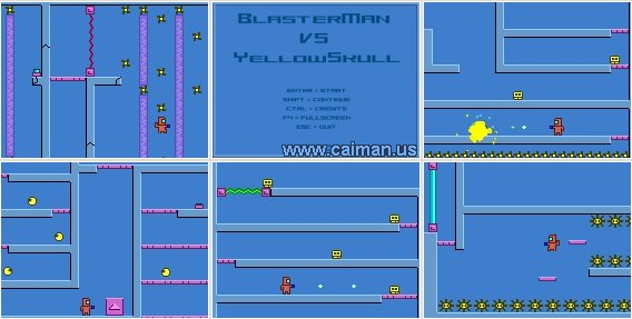 BlasterMan vs YellowSkull