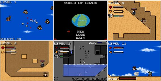 World of Chaos DX
