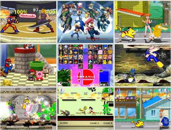Super Smash Bros All-Stars