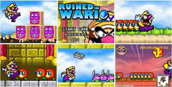 Ruined in Wario - Diamond edition