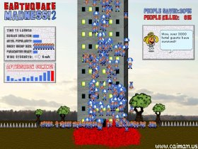 Earthquake Madness! 2