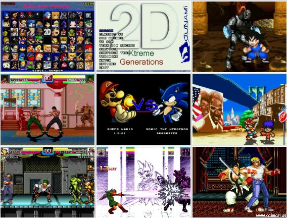 2D Xtreme Generations