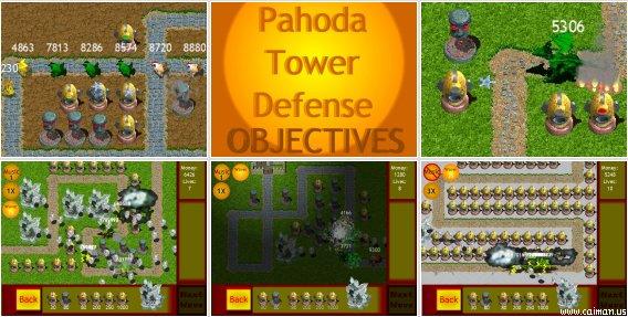 Pahoda Tower Defense: Objectives