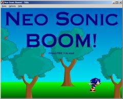 Neo Sonic Boom!