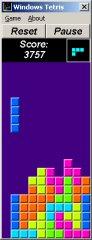 Windows Tetris