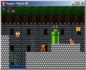(مفاجأة) لعبة super mario XP بمساحة خيالية (فقط 4.41 ميجا) 634-2