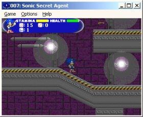 007: Sonic Secret Agent