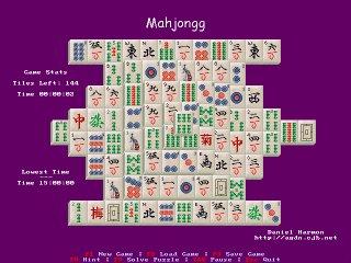 Dan's Mahjongg