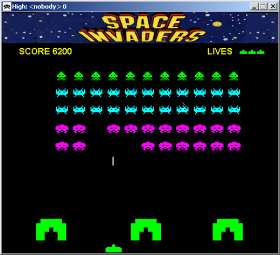 Space Invaders Crossley