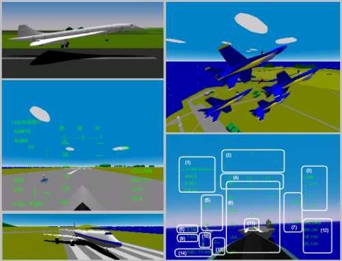 YS Flight Simulation System 2000