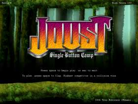 Joust in One Dimension