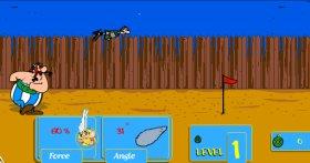 Asterix - Throw a Roman